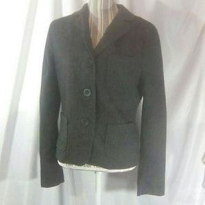 Hartford Grey Dark Academia Wool Blazer